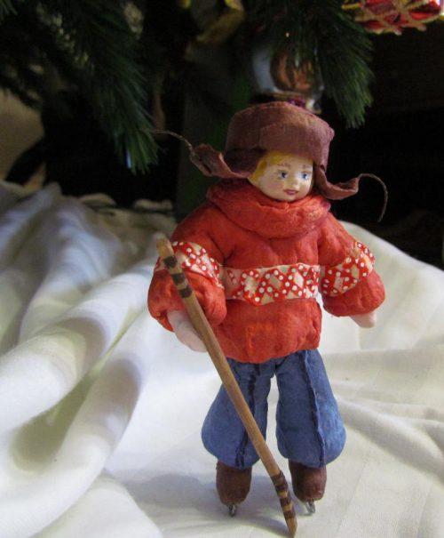 Boy Alyosha from cotton wool