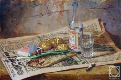 Herring in Russian, Mazur Nikolay