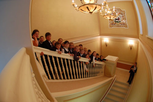 Guided tour for children in the museum