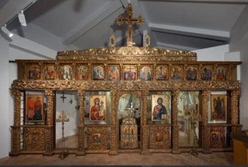 Iconostasis in the Russian Museum