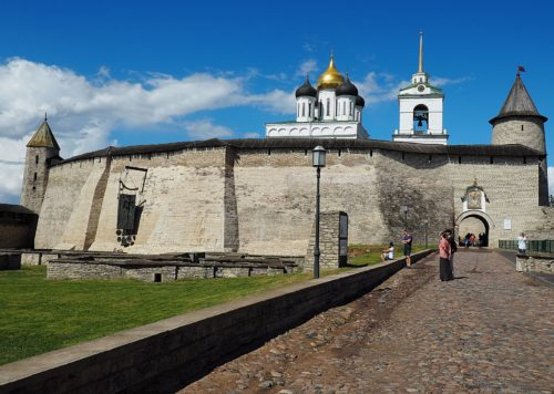 The oldest buildings in Russia