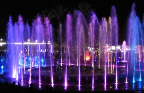 Fountain Singing in Tuapse