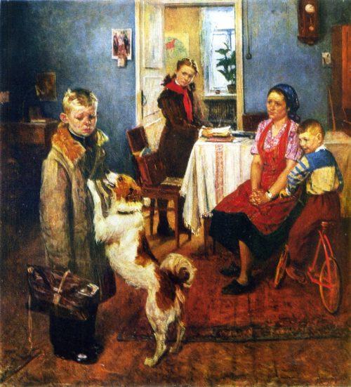 Fedor Reshetnikov. Painting