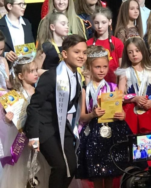 Mini Miss and Mister Russia 2021