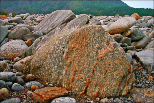 The stones of the Vitim river