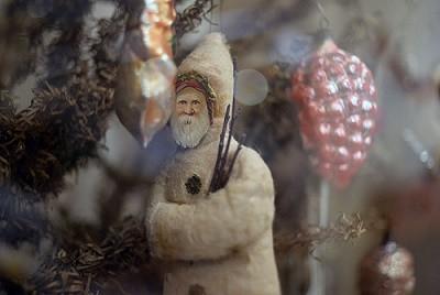 cotton santa claus