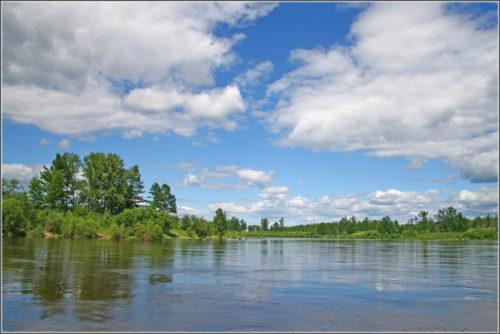 Vitim river