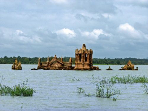 Mologa. Old Russian cities that were deliberately flooded