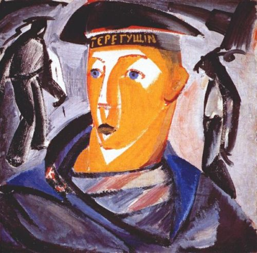 The Sailor (Self Portrait). Vladimir Tatlin