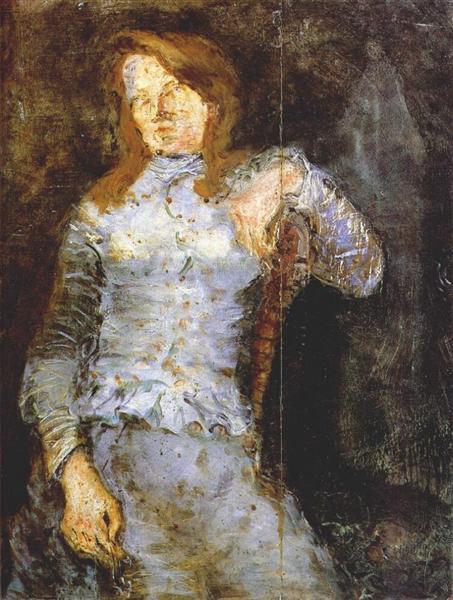 Woman's Portrait. Vladimir Tatlin