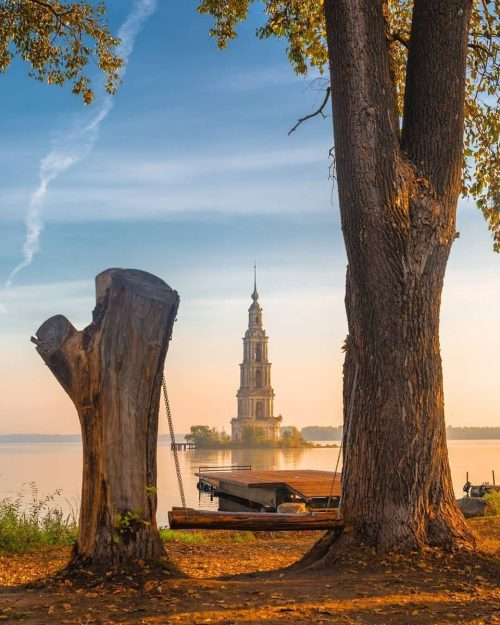 kalyazin. Old Russian cities that were deliberately flooded