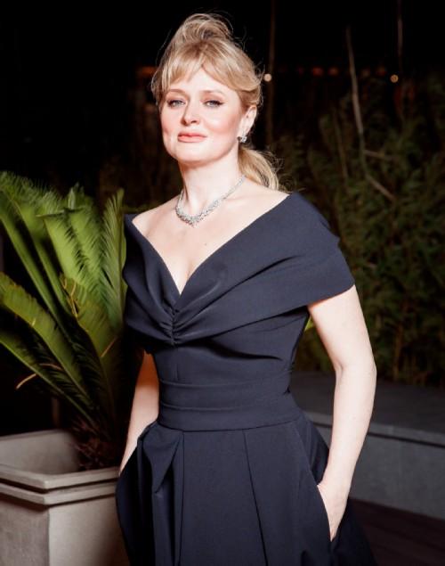 Anna Mikhalkova at the opening of Kinotavr 2019