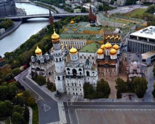 Cathedral Square of the Moscow Kremlin