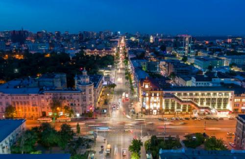 Rostov on Don. Bolshaya Sadovaya street