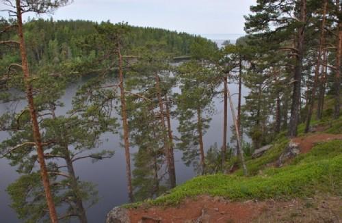 View of Malaya Nikonovskaya Bay.