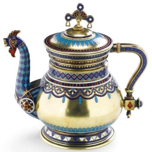 Teapot. Khlebnikov Jewelry Company