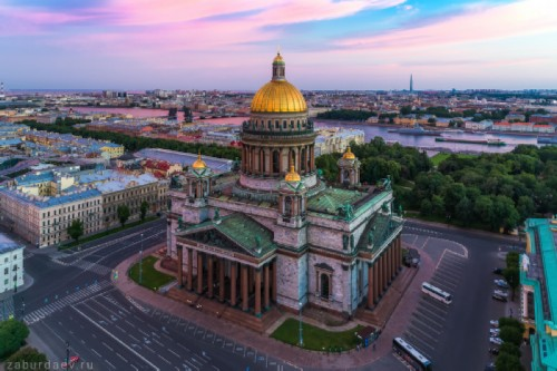 St Petersburg sights. Saint Isaac's Cathedral
