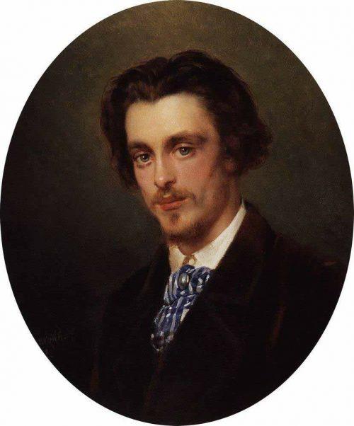 Makovsky Konstantin Egorovich. Portrait of V.E. Makovsky, the artist's brother. 1868