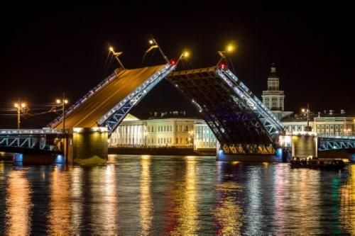 St Petersburg sights. Bridges