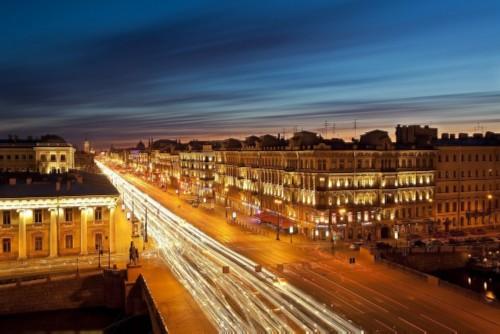 Nevsky Prospect. St Petersburg sights