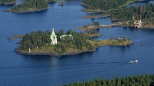 Valaam Island in Karelia