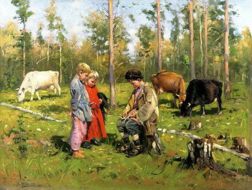 Пастушки. 1903