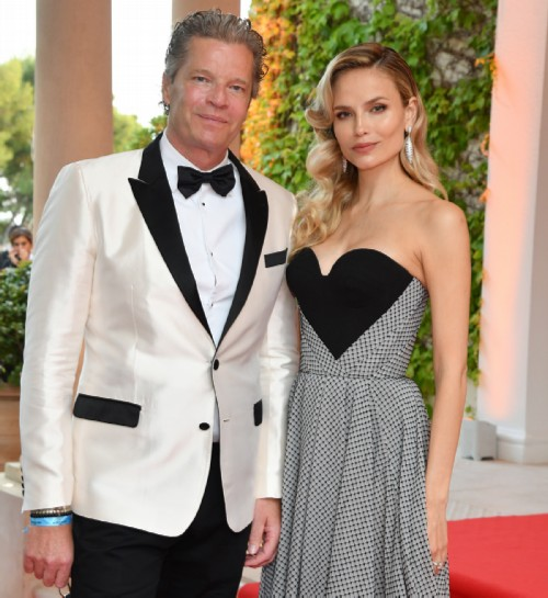 Natasha Poly et son mari Peter Bakker