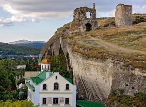 Sevastaol monastery fortress Inkreman