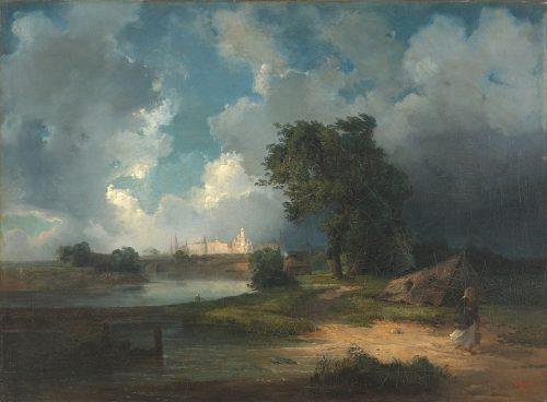 Alexey Savrasov. Painting