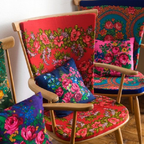 Chairs in Russian style