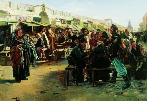 Swarm. 1875
