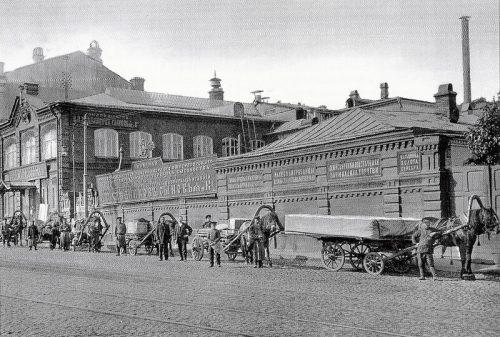 Khlebnikov's factory in 1871