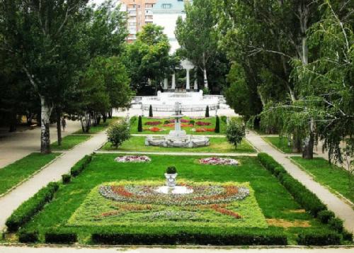 Central city park named after A. M. Gorky