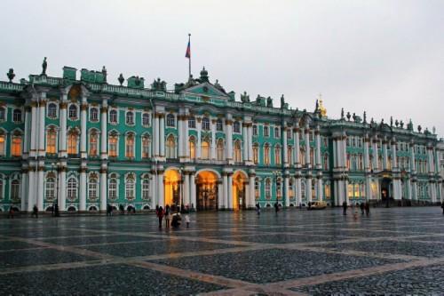 St Petersburg sights. Hermitage