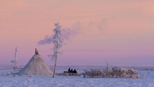 Yamal in winter
