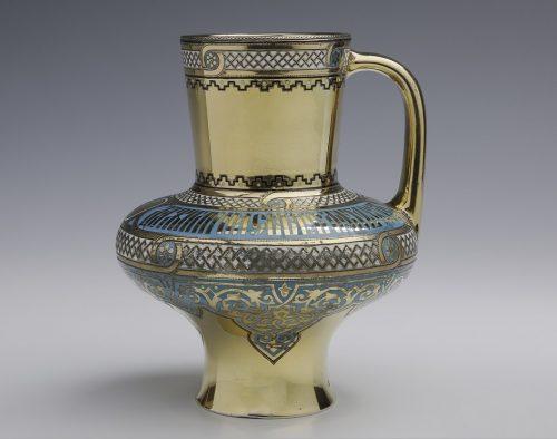 I.P. Khlebnikov's company. A jug in the shape of a krynka, 1872. Museum