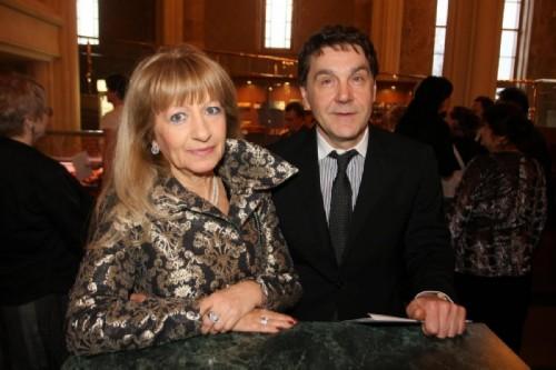 Sergey Makovetskiy with wife