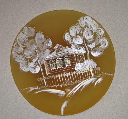 plate Gusevsky crystal
