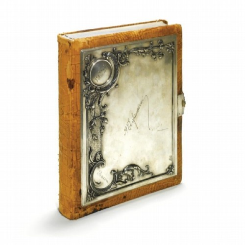 Album with photographs in a silver frame, Pavel Ovchinnikov, Moscow, 1899-1908