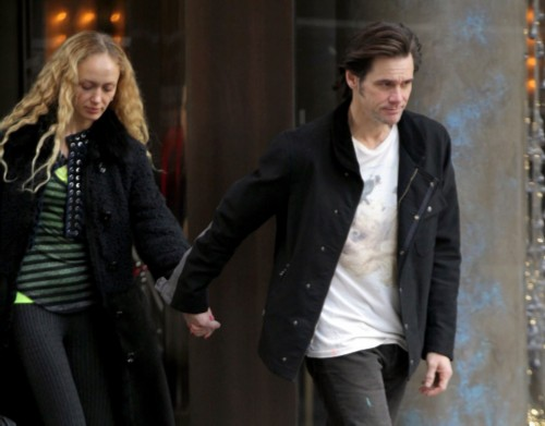 Anastasia Vitkina and Jim Carrey. Russian wives of western celebrities