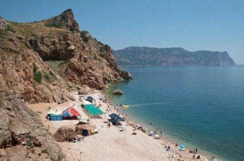 Beach in Balaklava