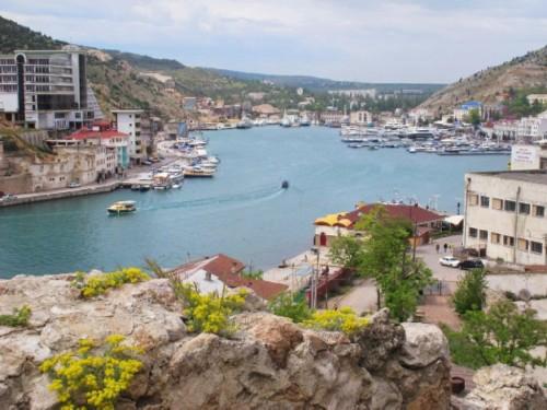 Black sea, city of Balaklava 2