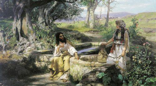 Christ and the Samaritan Woman. 1890