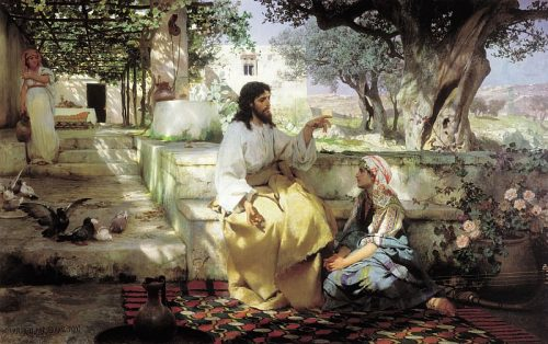 Christ at Martha and Mary. 1886