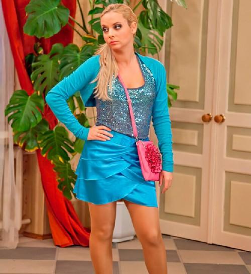 Daria Sagalova in the TV series