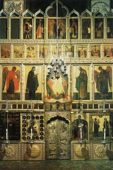 Khlebnikov Jewelry Company. Iconostasis of the Annunciation Cathedral of the Moscow Kremlin
