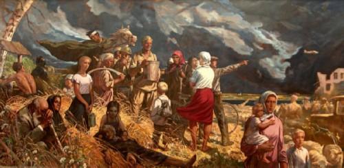 Ilya Glazunov Roads of War