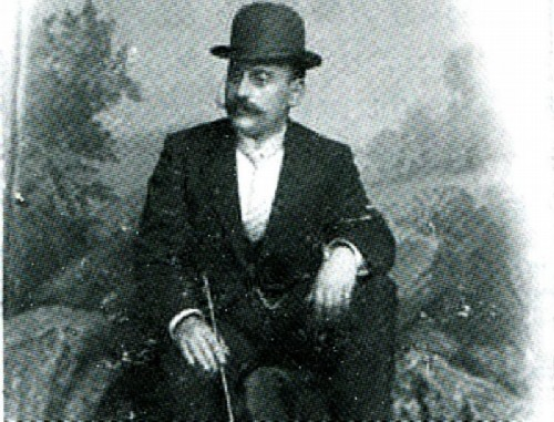 Joseph Stamboli during the heyday of the tobacco business