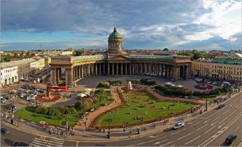 Kazan Cathedral in St. Petersburg 3