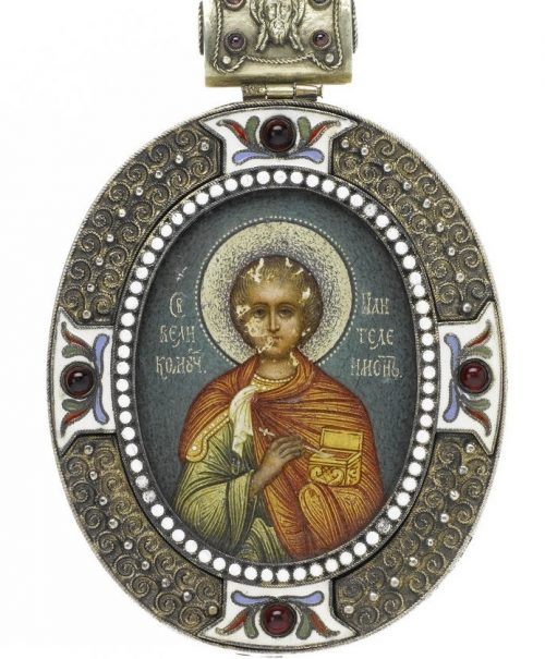 Khlebnikov Ivan Petrovich (Russia, 1819-1881) Obrazok-icon. Khlebnikov Jewelry Company